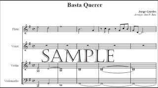 Basta querer, Jorge Guedes - Padre Marcelo Rossi (instrumental-partitura)