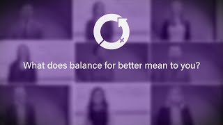 International Women's Day 2019 - What does balance for better mean to you?