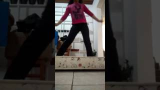 Desafio da ginástica (erro de gravação ) kkkkk