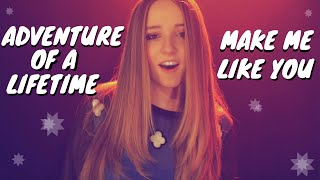 Make Me Like You - Gwen Stefani / Adventure Of A Lifetime - Coldplay | Ali Brustofski Mash-up Cover
