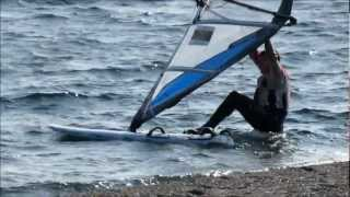 Windsurf - Cremia, 2 marzo 2013 - Breva