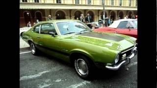 carros antigos Exposição Ford Mustang Maverick e Dodge