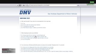 Grand Theft Auto V How to pass San Andreas DMV Test!!!