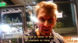 Erdogan Atalay & Mark Keller - Message aux fans français d'Alerte Cobra