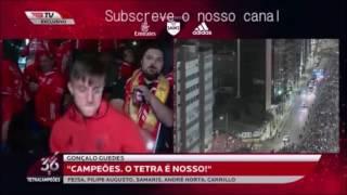 Cervi curtindo Trance nos festejos do Tetra Campeonato (S. L . Benfica)