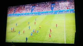 Final UEFA Euro 2016 : Portugal 1 France 0 goal by Eder @ min 109,