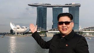 'Kim Jong Un': Trump, I'm here in Singapore! width=