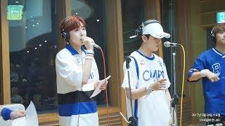 RADIO LIVE   SF9 Cover REALLY REALLY, SF9(다원,재윤,영빈,인성,주호) - 릴리 릴리 20170524