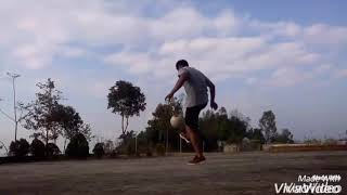 Football freestyle by Gr. Naga (Roko Medom)