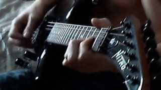 Airbourne - runnin wild (guitar cover)