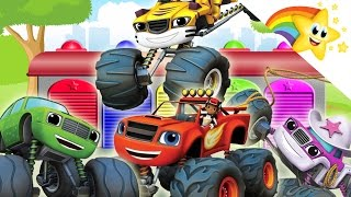 BLAZE AND THE MONSTER MACHINES Learn COLORS and COUNTING ⭐KIDS Learning Video⭐