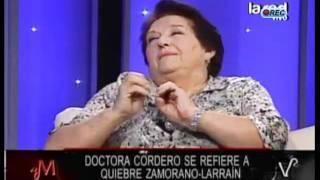 Dra. Cordero trata de prostituta a Kenita