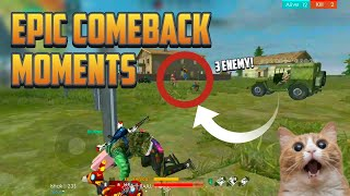 Free Fire : WTF Moments #84   Epic Comeback Ever Seen