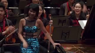 Yuja Wang - Carmen Variations Encore after Tchaikovsky Piano Concerto 1 (2017)