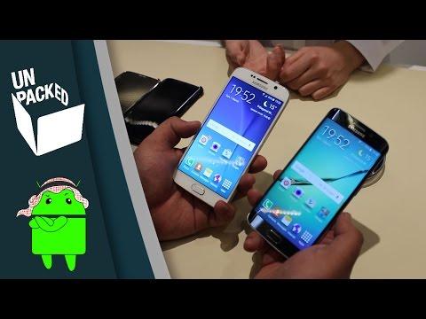مقارنة سريعة بين الـ Galaxy S6 و الـ Galaxy S6 Edge