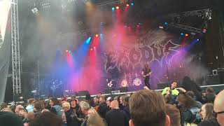 Exudos - Piranha - Live Sweden Rock Fest 2015