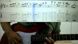Dalamnya KasihMu Bapa (Guitar Cover Interlude Tab) - True Worshippers album All Things New