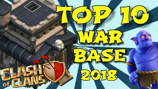 BEST  TOP 10 [TH9] TOWN HALL 9 WAR BASE OF 2018 |ANTI 2 STAR | COC TH 9 WAR BASE 2018 - (Part1) 💪