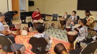 Multicultural Kids Network African Healing Drumming