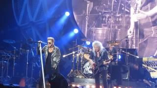 Queen + Adam Lambert. Stone Cold Crazy. Jellinge festival. Denmark, 2016