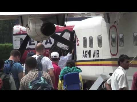Trekking in Nepal 03: Lukla Flight