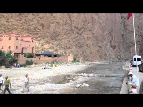 Hotel in gorges of morocco