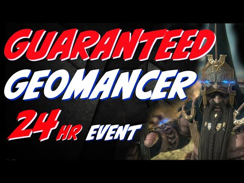 Geomancer guaranteed tomorrow for 24hrs. Clan boss MONSTER! Raid Shadow Legends Epic event!