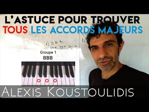 Comment mémoriser les accords majeurs au piano