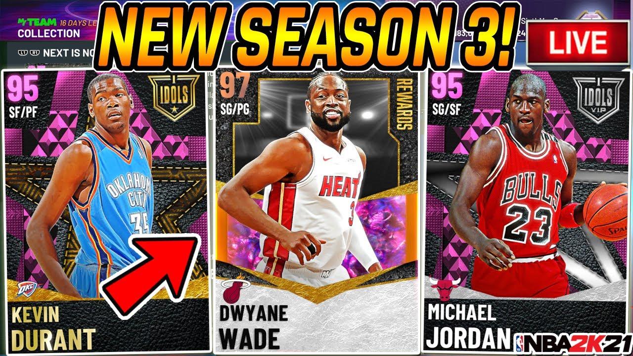 6thManSam - NBA 2K21 MYTEAM SEASON 3 IS HERE!