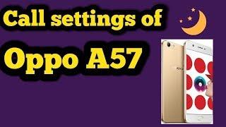 Call Settings of Oppo A57,F1s,F3,F3plus,Urdu|Hindi