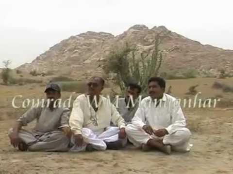 The villages of Thar , Visit Comrade WM Maganhar
