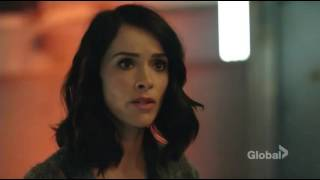 lucy mason wyatt and agent christopher  Timeless 1x01 clip