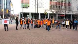 JaVan Gospel Choir/My life is in your hands (charity street live)