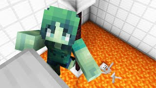 Monster School: Girls vs Boys Parkour Challenge - Minecraft Animation