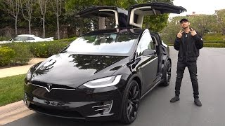 MY BRAND NEW CAR (TESLA MODEL X)