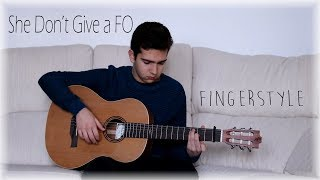 She Don't Give a FO - Duki ft. Khea - Cover Guitarra (Fingerstyle)