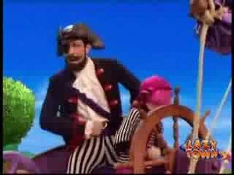 Somos Piratas de Lazy Town Letra y Video
