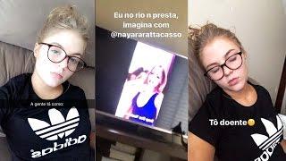 LUISA TA DOENTE + ASSISTINDO VIDEO DAQUI DO CANAL + VIDEO NOVO | Luisa Sonza