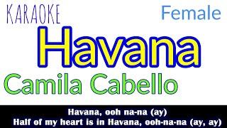 Havana (Lyrics|Piano Karaoke|Female Key) Camila Cabello
