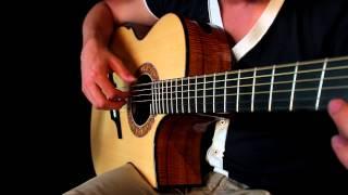 Skyrim Main Theme Guitar - Max Roest