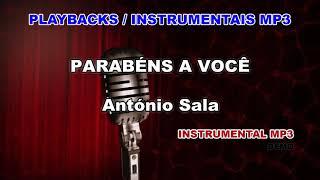♬ Playback / Instrumental Mp3 - PARABÉNS A VOCÊ - António Sala