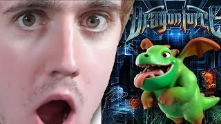 Dragonforce - Through the Fire and the FLames - LIVE REACTION!!!!