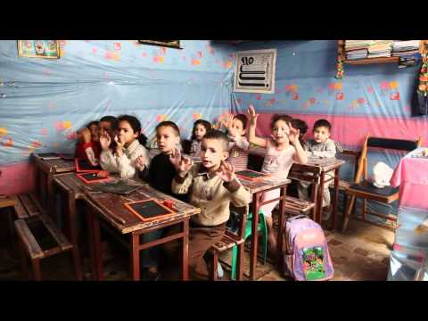 A visit to a preprimary school in Fez, Morocco