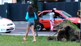 Menores e taxistas em Porto Alegre RS