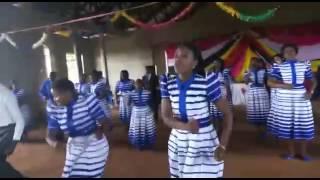 Nzega town choir wakiwa kahama pasaka