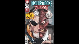 Deathstroke -- Issue 38 (2016, DC) Review