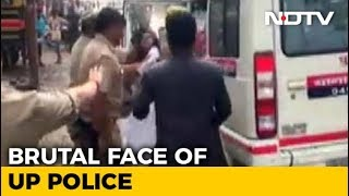 On Video, UP Cops Pull Student's Hair For Blocking Amit Shah's Convoy