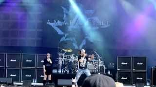 Amaranthe - Burn With Me (LIVE @ Tuska Open Air 2013)