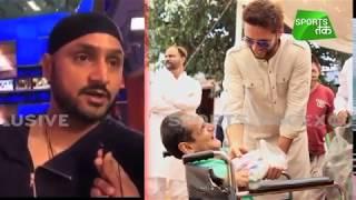 Harbhajan Goes 'Boom-Boom' For A Good Cause | Sports Tak