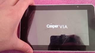 casper tabletlerde unutulan ekran kilidini açma